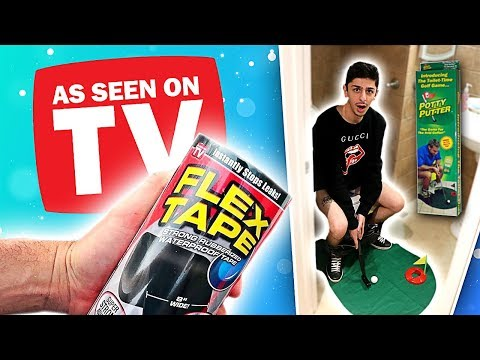 """Testing """"As Seen on TV"""" Products! (Do They Work?)"""
