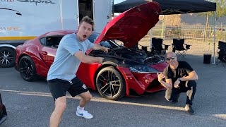 Making a 1000HP Supra with Steph Papadakis!
