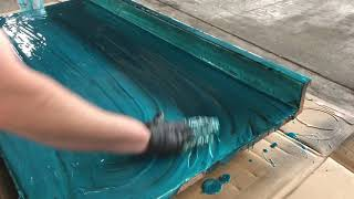 Installing Epoxy With Your Hands In Only 6 Minutes! | Leggari Products