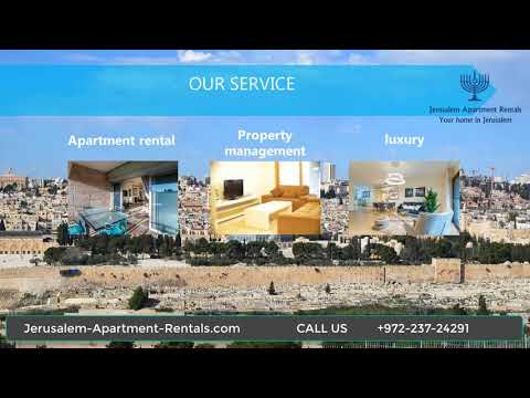 Jerusalem Apartment Rentals Service  |+9722-372-4291|  Call Us Now