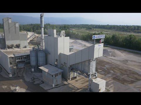 The Marini MAP 260 asphalt plant of Adige Bitumi Group in Friola (Vicenza)