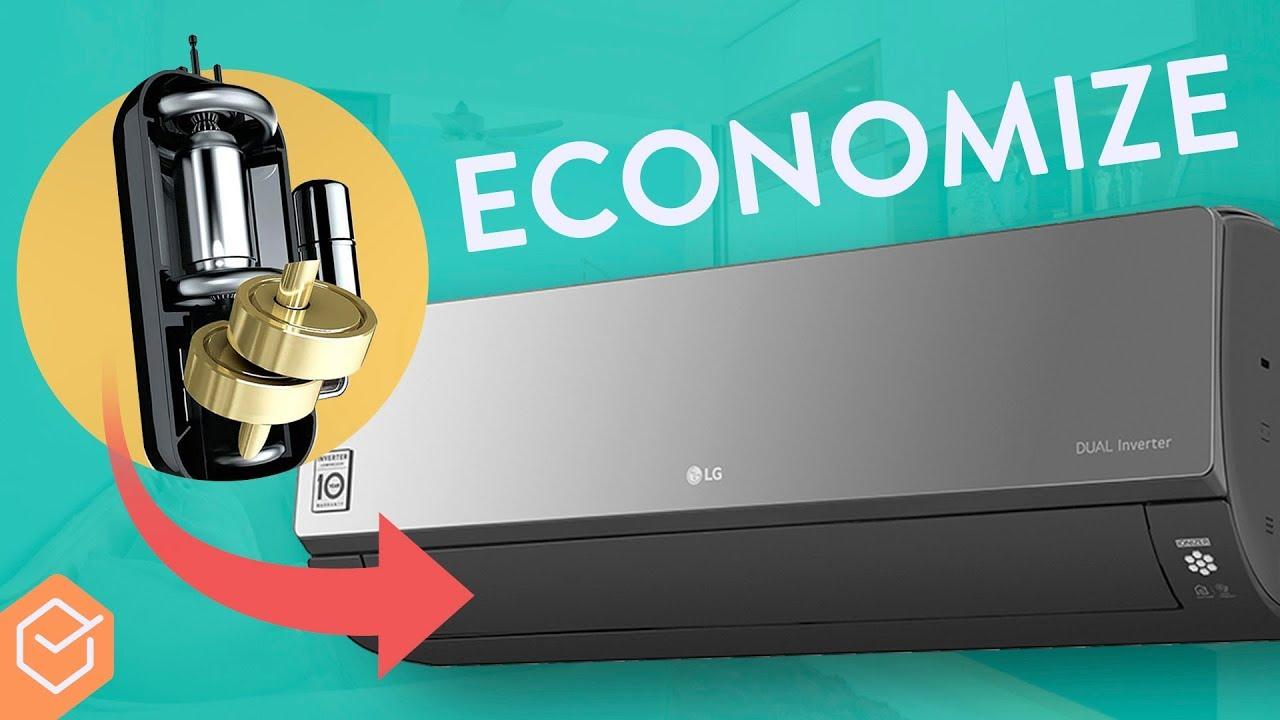 70 De Economia Com O Lg Dual Inverter Ar Condicionado Youtube