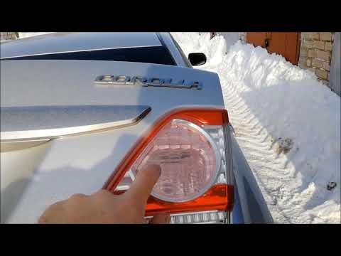 Тойота Королла Е150. Установка парктроника.