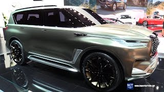 2018 Infiniti QX80 Monograph Concept - Exterior Walkaround - Debut at 2017 New York Auto Show