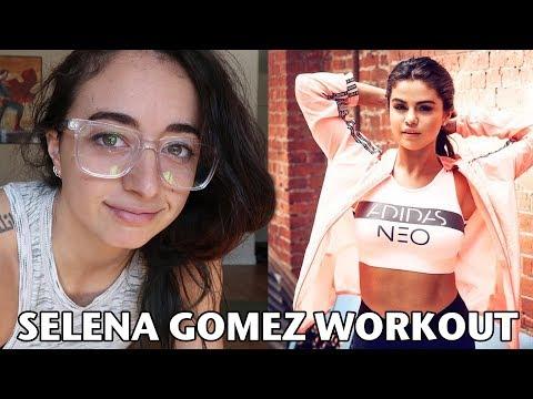I Tried Selena Gomez's Workout