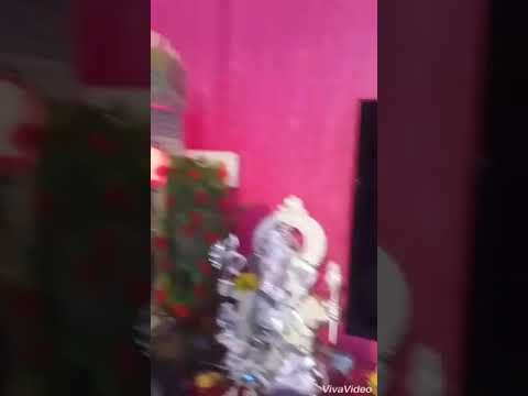 Ganesh Badhe - home Ganpati Decoration 2017 गणपती सजावट