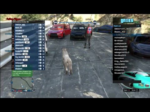 GTA 5 PS3 600 SUBS MONEY LOBBY AND MOD MENU DOWNLOAD