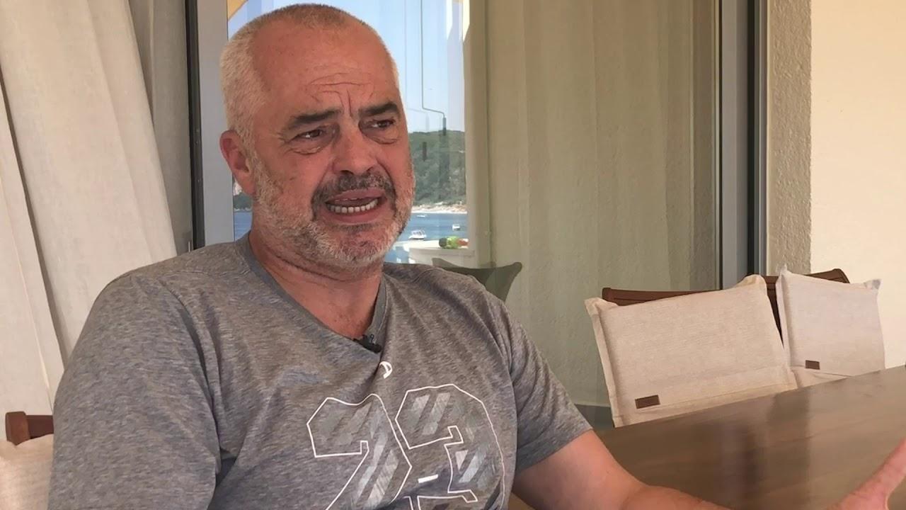 Albanian Prime Minister Edi Rama speaks to Jack Parrock - YouTube