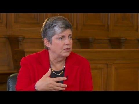 """euronews interview - Janet Napolitano, Secrétaire américaine à la Sécurité intérieure : """"un 11 septembre serait..."""