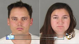 Dad and girlfriend accused of torturing little boy