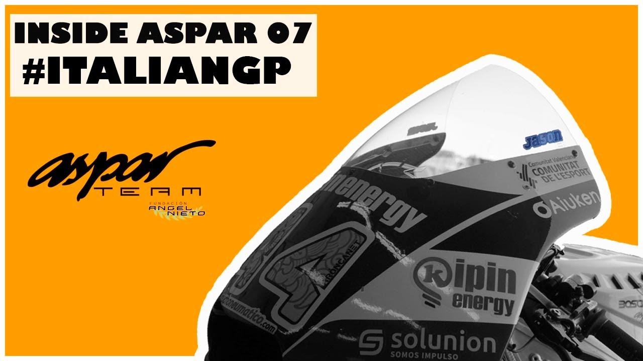 Inside Aspar 07 - A tough and emotional #ItalianGP