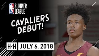 Collin Sexton Full Cavaliers Debut Highlights vs Wizards (2018.07.06) Summer League - 15 Pts, 7 Reb