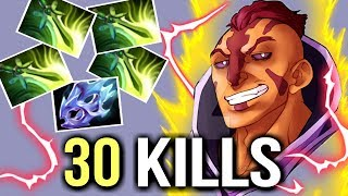 SUPER SAIYAN 4x Butterfly CRAZY 30 Kills Niko Anti-Mage Epic Pro Gameplay WTF Dota 2