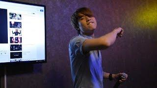Yujin thoj hu nkauj karaoke laib laus : Thov