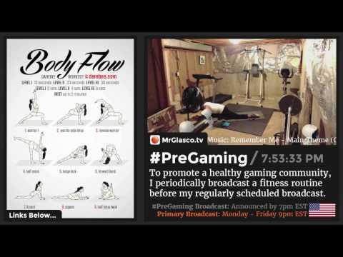 #PreGaming: DAREBEE #BodyFlow #Yoga Workout 💪