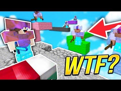 MINECRAFT BEDWARS AS A YOUTUBER .. | Minecraft Adventures
