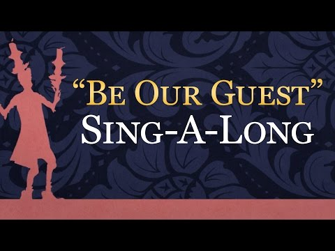 Beauty And The Beast : Be Our Guest  #ReadAlong  Disney