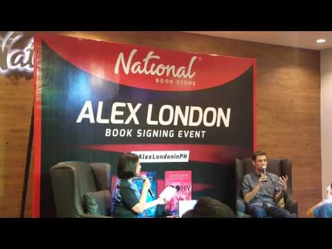 Alex London in Manila 01-16-2016