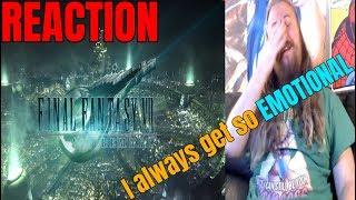 Final Fantasy 7 Remake - Opening Movie Reaction. I always get so EMOTIONAL