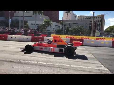 Formula 1 Miami Festival: F1 Cars Full Throttle And Burnouts