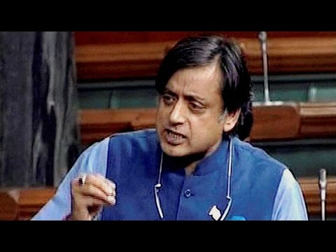 "Shashi Tharoor says, ""Cow is safer than a Muslim in India"""