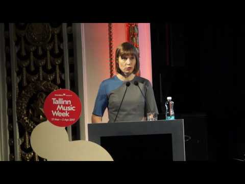 President Kersti Kaljulaid  open today Tallinn Music Week conference