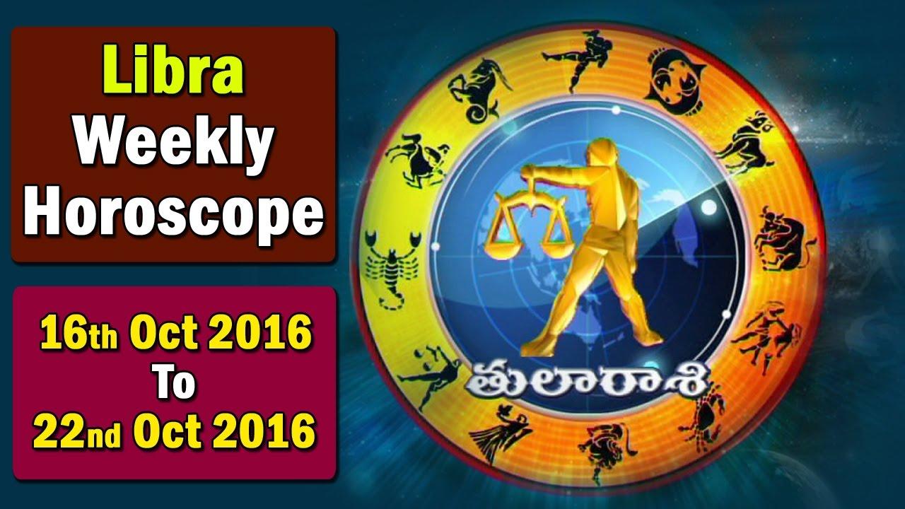 Libra Weekly Horoscope By Sankaramanchi 16th October 2016 22nd October 2016 Bhakthi Tv Youtube
