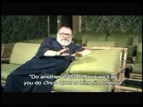 Very Rare Interview with Sergio Leone in 1984
