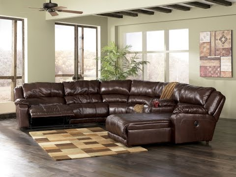 Reclining Leather Sectional With Chaise & Reclining Leather Sectional With Chaise - YouTube islam-shia.org