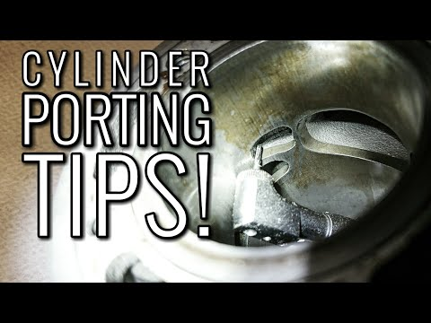Two Stroke Cylinder Porting Tips | WATCH THIS BEFORE YOU START CUTTING! 2 Stroke Tuning