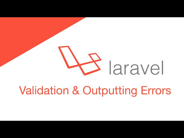 Laravel 5.2 PHP Build  a social network - Post Validation & Outputting Errors