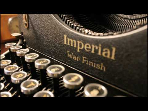 "(Review) 1939 Imperial 50 Standard Typewriter ~""War Finish""."