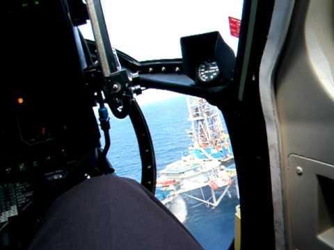 S-76 Landing Offshore