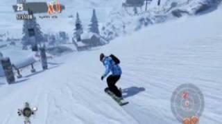 New Shaun White Snowboarding 9800 GTX+ PC gameplay HD