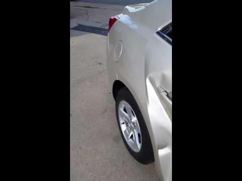 SOMEONE HIT MY RENTAL CAR!!! Part 1