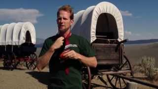 Covered Wagon On The Oregon Trail - How To Tie A Tie
