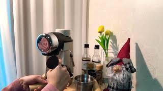 모즈 에스프레소 커피머신 사용법