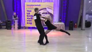 Танцевальный уикенд 2019 Pro Am финал 3 место №47 Тихонов Роман Горбунова Ирина