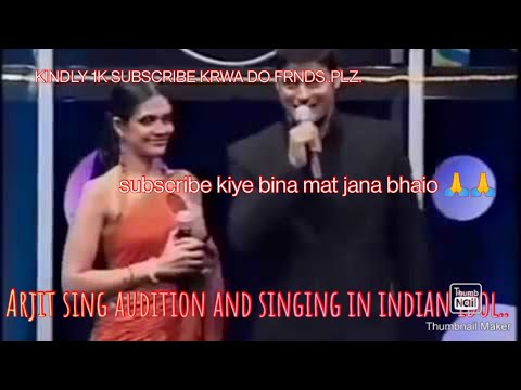 arjit singh 2005 Indian Idol... live performance