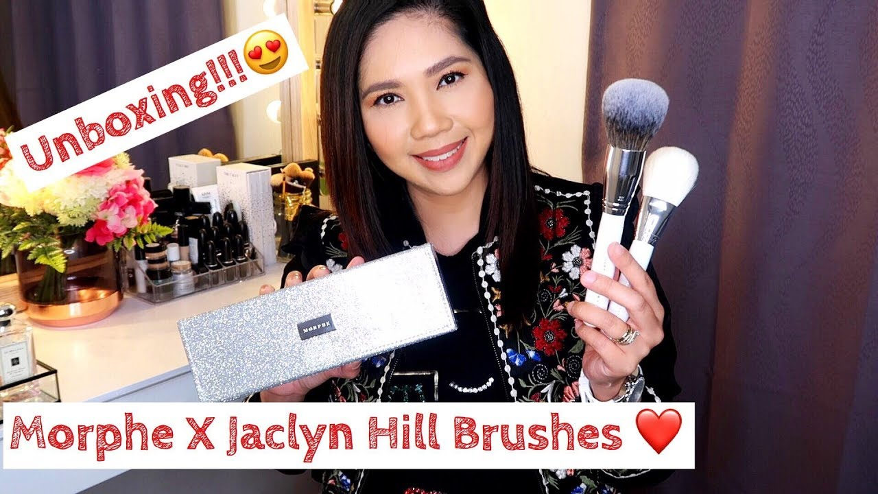 Unboxing Morphe X Jaclyn Hill Brushes Pinay Mum In Nz Liz Cuico Youtube Browse 5 products and compare prices from morphe brushes. youtube