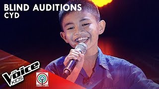Cyd Pangca - Pangarap Na Bituin | Blind Auditions | The Voice Kids Philippines Season 4