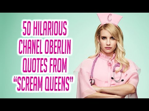 """50 Hilarious Chanel Oberlin Quotes From """"Scream Queens"""""""