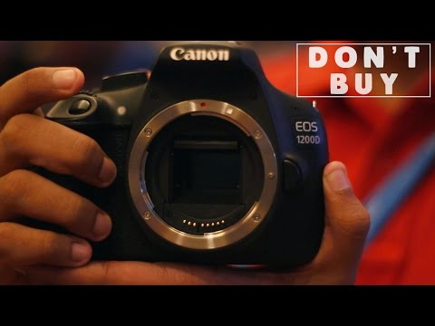 DON'T BUY the Canon 1200D (Rebel t5) for vlogging!
