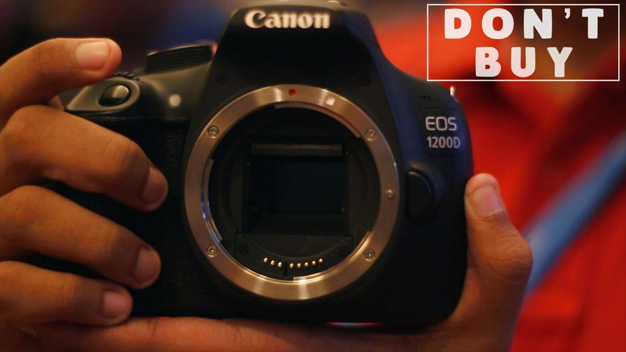 Don T Buy The Canon 1200d Rebel T5 For Vlogging