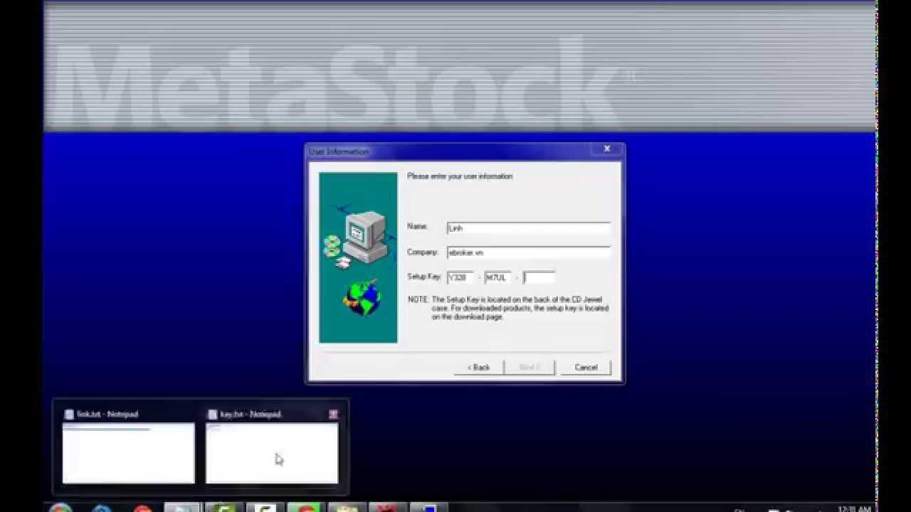 Hướng dẫn cài đặt và sử dụng Metastock 11 từ A tới Z trong 15 phút.