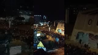 Черногория Бар Протесты против отделения сербской и черногорской церкви