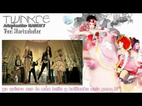 ♪ SNSD (소녀시대) TTS - TWINKLE (Spanish Cover)