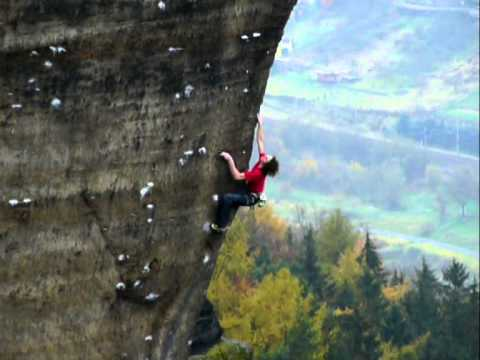 Adam Ondra - King Line XIb, Elbe valley, Czech rep.
