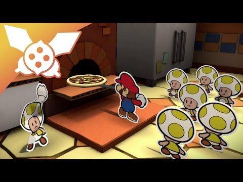 [LP] Paper Mario Color Splash #31 : La pizza di Mario
