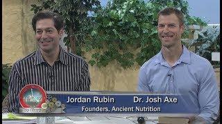 Herman and Sharron - Jordan Rubin and Dr. Josh Axe &quotAncient Nutrition&quot Essential Oils